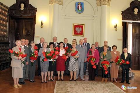 Nowy Sącz: 50 lat w małżeństwie a uśmiech nie znika!