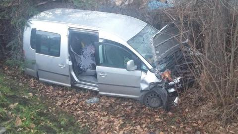 Tragiczny wypadek na DK-75 w Czchowie. Dwie osoby trafiły do szpitala