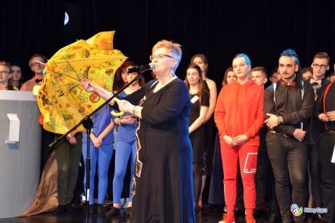 Barbara Porzucek pożegnała się z Festiwalem Młodych Talentów