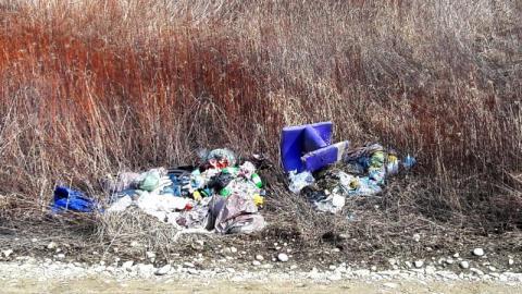 śmieci nad Dunajcem