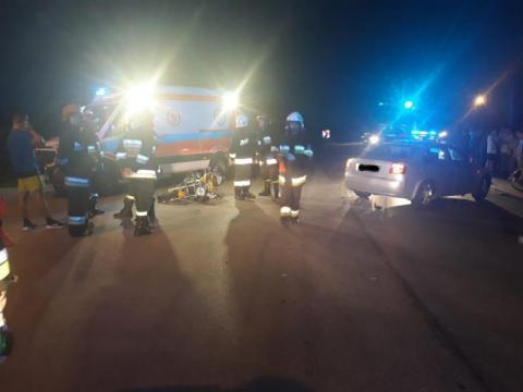 Wypadek w Stadłach