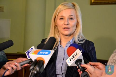 Anna Bednarczyk-Maśko, prezes SIM, fot. UM w Nowym Sączu