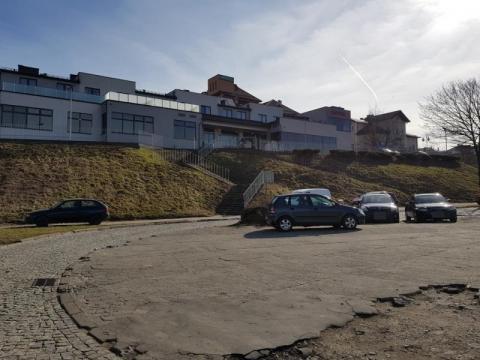 Parking pod Panoramą, fot. Iga Michalec