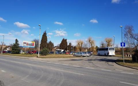 zatoczka autobusowa przy ul. Bulwar Narwiku, fot. Iga Michalec