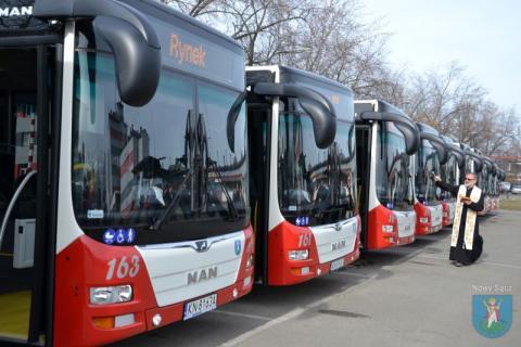 Miejskie autobusy, fot. UM w Nowym Sączu