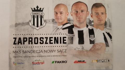 MKS Sandecja – TS Podbeskidzie Bielsko-Biała. Mamy dla was 30 zaproszeń na mecz