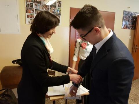pierwszy dzień egzaminu za gimnazjalistami, fot. Iga Michalec
