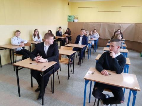 egzamin gimnazjalny, fot. Iga Michalec