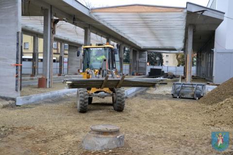Dworzec MPK w Nowym Sączu, fot. UM w Nowym Sączu