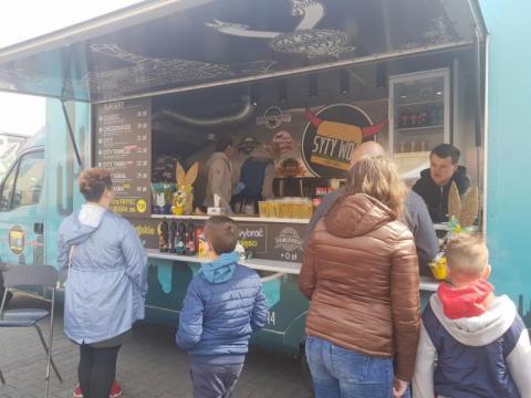 Zlot Food Trucków w Nowym Sączu, fot. Iga Michalec
