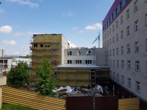 Budowa Centrum Onkologii w Nowym Sączu, fot. Iga Michalec