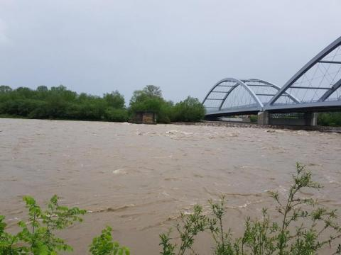 Powódź w Nowym Sączu, fot. Iga Michalec