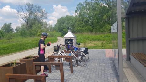 miejsca obsługi rowerzystów, fot. Leszek Zegzda