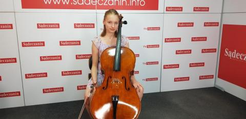 Rozmowa Dnia: Wiktoria Osińska o swojej muzycznej przygodzie z wiolonczelą