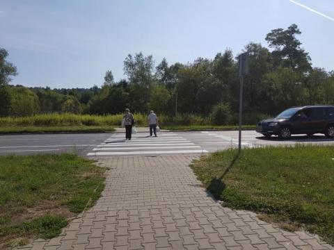 al. Piłsudskiego, przejście dla pieszych, fot. Iga Michalec