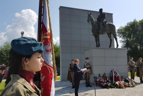 99. rocznica Bitwy Warszawskiej w Nowym Sączu, fot. Iga Michalec