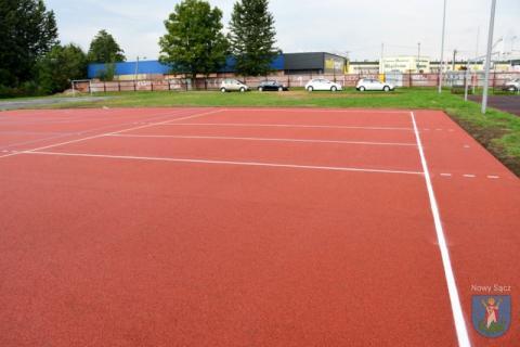 boisko sportowe przy Szkole Podstawowej nr 9, fot. UM w Nowym Sączu