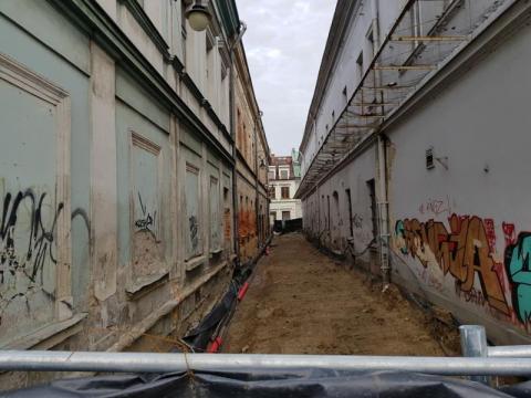 Niespodzianki na ul. Wąskiej w Nowym Sączu, fot. Iga Michalec