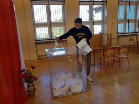 Wybory parlamentarne, fot. Iga Michalec
