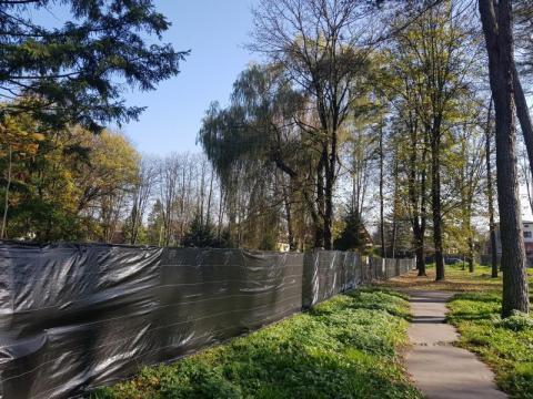 Park Strzelecki - prace się rozpoczęły, fot. Iga Michalec