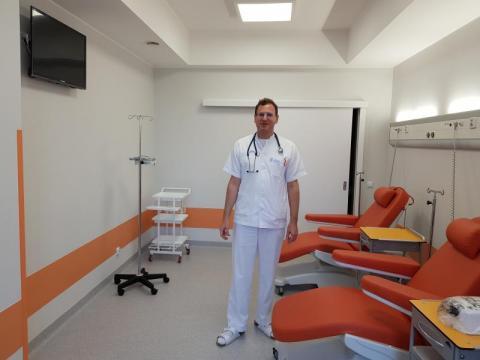 Nowy Oddział Chemioterapii Jednodniowej, fot. Iga Michalec