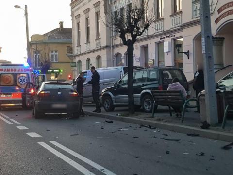 Z ostatniej chwili: wypadek na ul. Zygmuntowskiej. Są utrudnienia w ruchu
