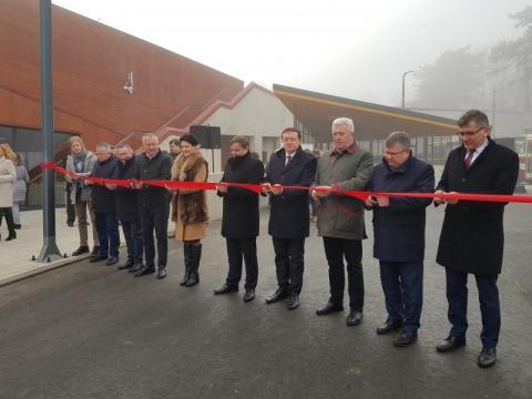Dworzec autobusowy w Starym Sączu i parking Park&Ride już otwarte