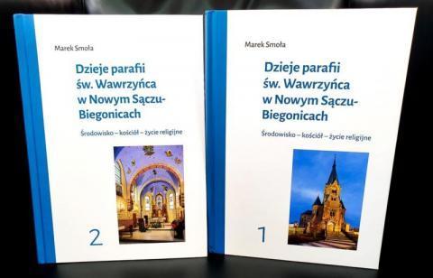 To unikat! 750 lat parafii św. Wawrzyńca w Nowym Sączu w jednej książce