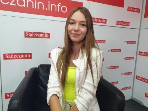 Oliwia Witowska z Tęgoborzy powalczy w wielkim finale konkursu piękności [WIDEO]