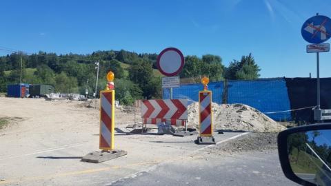 W Nowej Wsi rosną trzy nowe mosty. Do kiedy będą utrudnienia w ruchu na DK-75?