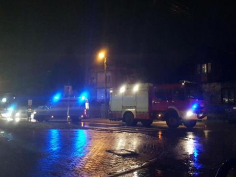Wypadek na DK-75 w Nawojowej. Samochód potrącił pieszego