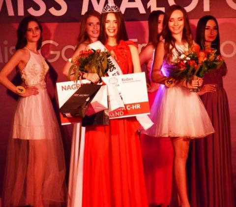 Agnieszka Dudek z Nowego Sącza Miss Ziemi Sądeckiej 2018