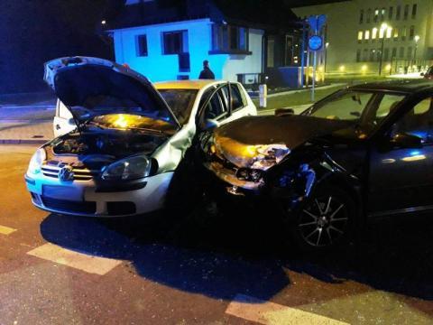 Wypadek na ul. Grunwaldzkiej. Aż cztery osoby ranne