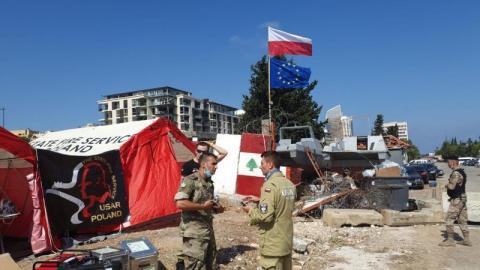 Sądeccy strażacy są już w Bejrucie. Będą poszukiwać uwięzionych pod gruzem