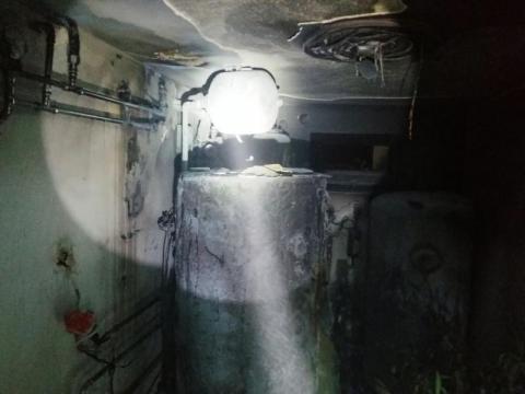 Nocny pożar w Nawojowej. Ogień wybuchł w piwnicy