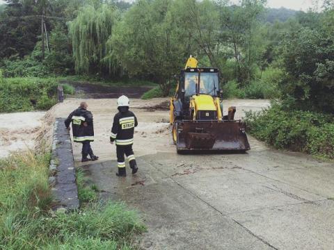 Gorąco na linii Podegrodzie - Wody Polskie: wody nie mają poglądów politycznych…