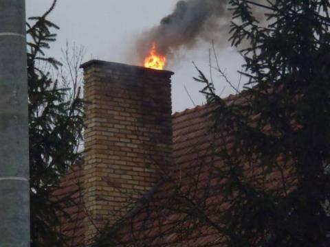 Ropa: paliła sięsadza w kominie