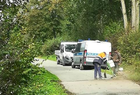 Wojnarowa: samochód dostawczy potrącił mężczyznę
