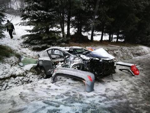 Jak doszło do tragicznego wypadku w Gruszowcu? Ranny mężczyzna zmarł w szpitalu
