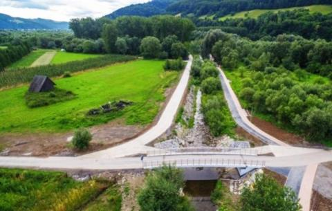 Kolejna ścieżka rowerowa nad Dunajcem jest już gotowa. W niedzielę huczne otwarc