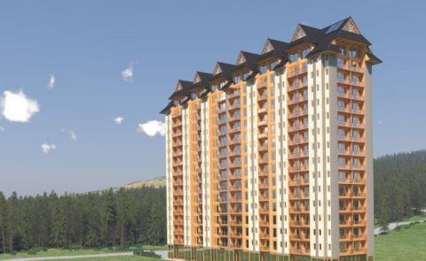 """Projekt 16-piętrowego apartamentowca opublikowało jedno z biur nieruchomości, które aktywnie działa w Zakopanem. Wypatrzyli je i rozpowszechnili działacze Zakopiańskiego Alarmu Urbanistyczno-Architektonicznego. """" Trudno uwierzyć, że nie jest to ŻART. Jeżeli jednak jest to prawdą, można śmiało powiedzieć, że tupet młodych prężnych inwestorów przekroczył granice nie tylko dobrego smaku, ale również poziom abstrakcji, kompletnie niezrozumiały nawet dla ludzi z wielką wyobraźnią"""" - napisali w swoim profilu na F"""