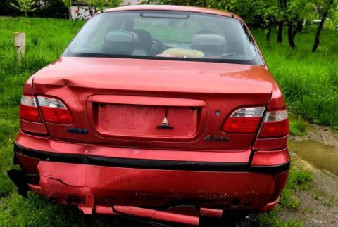 Porzucony samochód w Starym Sączu