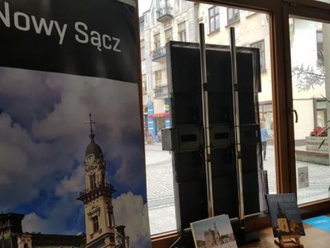 Tablica interaktywna CIT w nowym Sączu, fot. Iga Michalec