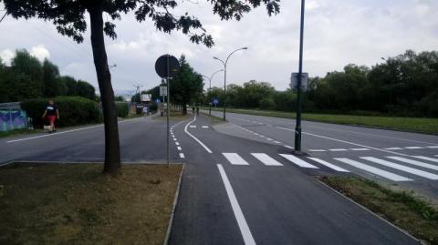 Nowy Sącz: już nie trzeba sprintera, żeby bezpiecznie tu przejść!