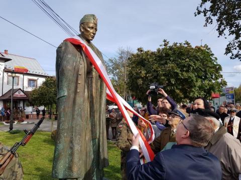 Odsłonięcie pomnika ks. Władysława Gurgacza SJ, fot. Iga Michalec