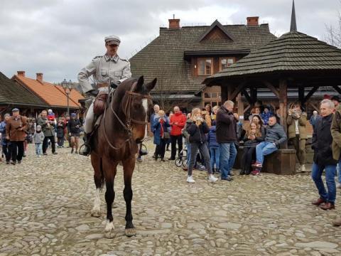 Marszałek Józef Piłsudski wjechał do Nowego Sącza, fot. Iga Michalec