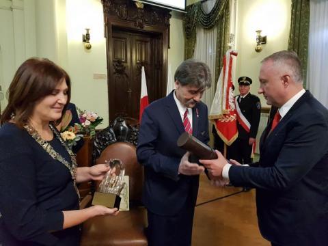 Jerzy Giza, Honorowym Obywatelem  Miasta Nowego Sącza, fot. Iga Michalec