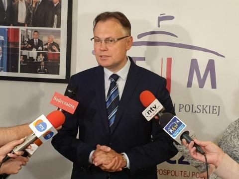Poseł Mularczyk wzywa prezydenta Handzla do przeprosin. Poszło o most [WIDEO]
