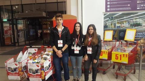 Uczniowie ze starosądeckiego ogólniaka wzięli udział w akcji Serce-Sercu