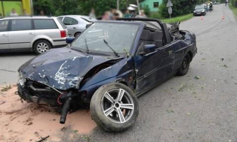Sobota na drogach: Wypadek i ucieczka z miejsca zdarzenia